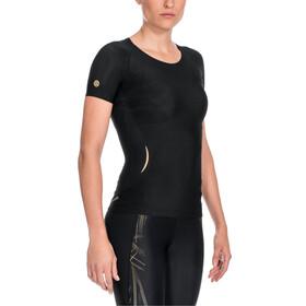 Skins A400 Top Short Sleeve Dam black/gold